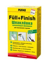 Шпаклeвка заполняющая финишная PUFAS Full+Finish (1 кг)